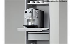 Rollladenschrank Klenk Dancer Kaffeeschrank Schrank silber abschließbar 50 cm