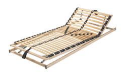 Lattenrahmen 90x200 cm A 200 Kopf- und Fußteil verstellbar 28 Federholzleisten