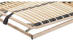 Lattenrahmen 140x200 cm A 200 Kopf- und Fußteil verstellbar 28 Federholzleisten