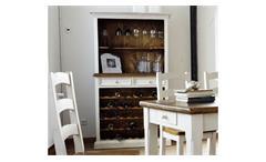 Weinregal BODDE Landhaus Kiefer massiv vintage used Look