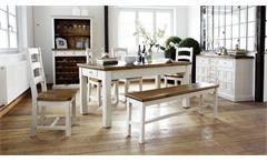 Esstisch Tisch Bodde Kiefer Massivholz und vintage used Look 180 cm Landhaus