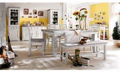 Esstisch Esszimmer Tisch Opus 180 Kiefer Massivholz vintage used Look Landhaus