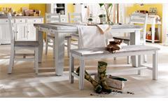 Tischgruppe 2 OPUS Kiefer massiv vintage used Look Landhaus