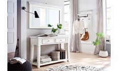 Anrichte Opus Kommode Sideboard Garderobe in Kiefer massiv weiß Vintage