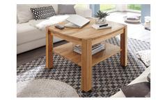Couchtisch Kalipso Beistelltisch Tisch Wohnzimmertisch Asteiche massiv geölt 80