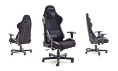Bürostuhl DX RACER 5 Game Chair in Stoff schwarz grau