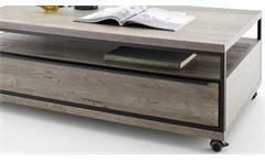 Couchtisch Avignon Beistelltisch Asteiche furniert Stone grau Wohnzimmer Tisch