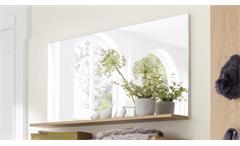 Wandspiegel TALO Spiegel mit Ablage in Crackeiche Furnier