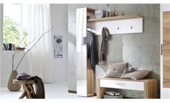 Spiegelpaneel TALO Garderobenpaneel in Crackeiche Furnier