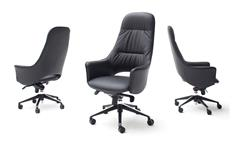 Chefsessel KAREN Drehstuhl Drehsessel Bürostuhl Bürosessel schwarz