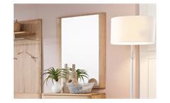 Garderobenspiegel Nilo Spiegel Wandspiegel Flurspiegel Balkeneiche Bianco massiv