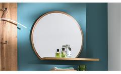 Garderobenspiegel Granada Spiegel Wandspiegel Flurspiegel Flur Diele Eiche 65x56