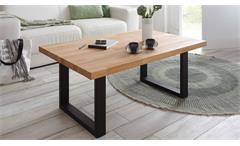 Couchtisch Artho Beistelltisch Wohnzimmer Tisch in Kernbuche keilverzinkt 110x70