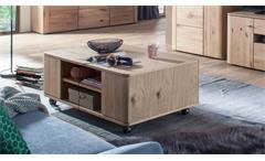 Couchtisch 65 Buffalo Beistelltisch Tisch Wohnzimmer in Asteiche Bianco115x70 cm