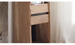 Esszimmer Massivholz Set Calabria 3-tlg. Akazie natur lackiert Speisezimmer