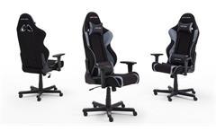 Schreibtischstuhl DX RACER R2 Game Chair Bürostuhl schwarz grau