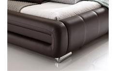Polsterbett Bolzano Bett braun 180x200 cm