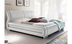 Polsterbett BOLZANO in weiß Schlafzimmer Doppelbett 180x200