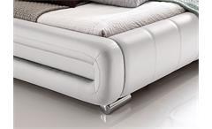 Polsterbett Bolzano Bett weiß 180x200 cm
