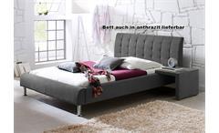 Bett Clip Polsterbett Grün 140x200 CM