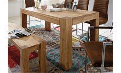 Esstisch Rustiko Tisch Esszimmertisch Esszimmer Wildeiche massiv geölt 180x90