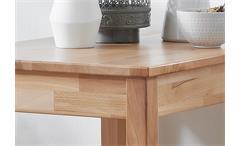 Esstisch Erik Esszimmertisch Tisch in Eiche massiv geölt 50x70 cm