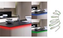 LED Flexband mit RGB-Farbwechsel 16 Farben Band kürzbar
