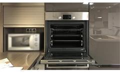 Einbauküche Nobilia Ausstellungsküche Küche Magma Hochglanz Splinteiche E-Geräte