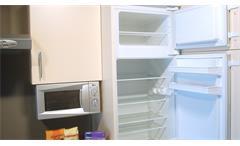 Einbauküche Nobilia Ausstellungsküche Küche Küchenzeile in sahara mit E-Geräte