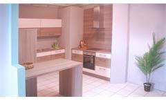 Küche Nobilia Ausstellungsküche Splinteiche magnolia matt E-Geräte