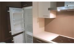 Einbauküche Nobilia Ausstellungsküche Küche Splinteiche Cafe Latte mit E-Geräte