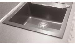 Einbauküche Nobilia Ausstellungsküche Küche Küchenzeile weiß Hochglanz E-Geräte