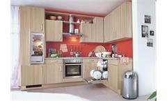 Nobilia Einbauküche, L-Küche inkl. E-Geräte und Geschirrspüler - 539