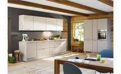 Nobilia Küchenzeile inkl. E-Geräte und Geschirrspüler - 759
