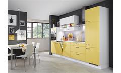 Nobilia Einbauküche Küchenzeile inkl. E-Geräte - 729