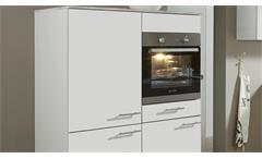 Nobilia Einbauküche L-Küche Küche inkl. E-Geräte mit Auswahlfarben 699