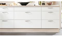 Nobilia Einbauküche L-Küche Küche inkl. E-Geräte mit Auswahlfarben 361