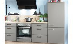 Nobilia Einbauküche L-Küche Küche inkl. E-Geräte mit Auswahlfarben 391