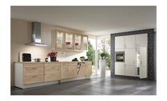 Nobilia Einbauküche Küchenzeile Küche inkl. E-Geräte mit Auswahlfarben 583