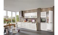 Nobilia Einbauküche Küchenzeile inkl. E-Geräte - 575