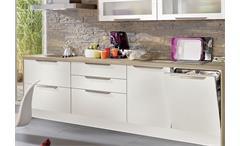 Nobilia Einbauküche Küchenzeile Küche inkl. E-Geräte mit Auswahlfarben 575