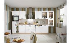 Nobilia Einbauküche Küchenzeile inkl. E-Geräte - 375