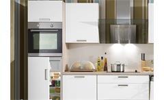 Nobilia Einbauküche Küchenzeile Küche inkl. E-Geräte mit Auswahlfarben 375