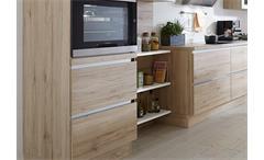 Nobilia Einbauküche L-Küche Küche inkl. E-Geräte mit Auswahlfarben 727