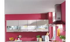 Nobilia Einbauküche L-Küche Küche inkl. E-Geräte mit Auswahlfarben 547