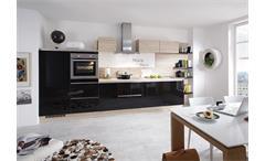 Nobilia Einbauküche Küchenzeile inkl. E-Geräte - 723