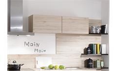 Nobilia Einbauküche Küchenzeile Küche inkl. E-Geräte mit Auswahlfarben 723