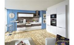 Nobilia Einbauküche Küchenzeile Küche inkl. E-Geräte mit Auswahlfarben 801