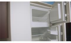 Einbauküche Nobilia Ausstellungsküche Küche weiß matt und Schiefer mit E-Geräte