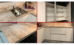 Einbauküche Nobilia Ausstellungsküche Küche in Savanne 335 inklusive E-GeräteEinbauküche Nobilia Aus